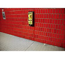 NY - who you gonna call? Photographic Print