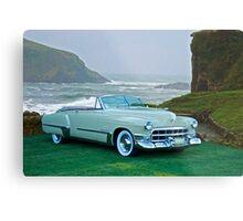 1949 Cadillac 62 Convertible Metal Print