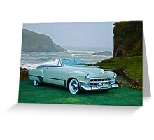 1949 Cadillac 62 Convertible Greeting Card