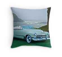 1949 Cadillac 62 Convertible Throw Pillow
