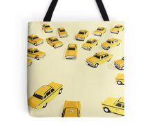 22 Yellow Taxis Tote Bag