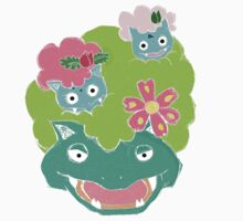 PokeFros- Bulbasaur Evolution by Chazie47