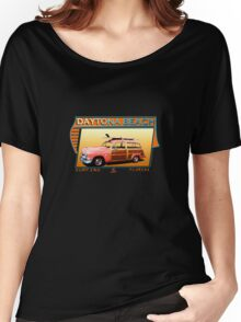 DAYTONA BEACH FLORIDA SURFING Women's Relaxed Fit T-Shirt