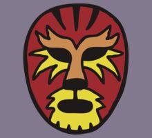 Tiger Wrestling Mask Kids Tee
