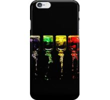 An Incident Involving Four Bottles... iPhone Case/Skin
