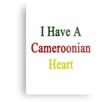 I Have A Cameroonian Heart  Metal Print