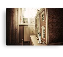 Inside out Decorating Canvas Print