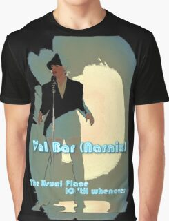 Val Bar (Narnia) flyer Graphic T-Shirt