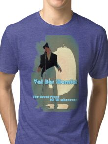 Val Bar (Narnia) flyer Tri-blend T-Shirt
