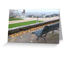 AUTOMN PAYSAGE - photography Greeting Card
