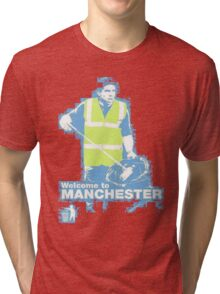 Welcome to Manchester Tevez Tri-blend T-Shirt
