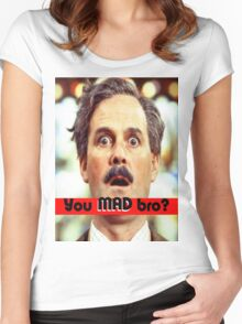 Cleese - YOU MAD BRO Women's Fitted Scoop T-Shirt
