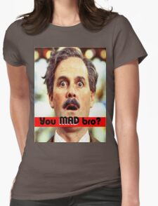 Cleese - YOU MAD BRO Womens Fitted T-Shirt