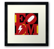 EoDM LOVE Framed Print
