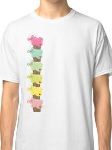 Sweet Pastel Cupcakes Classic T-Shirt