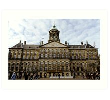 Royal Palace in Amsterdam Art Print