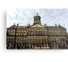 Royal Palace in Amsterdam Metal Print