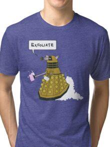 EXFOLIATE Dalek Tri-blend T-Shirt