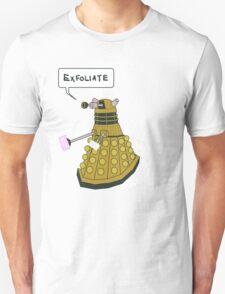 EXFOLIATE Dalek Unisex T-Shirt