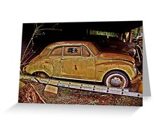 DKW Auto Union Greeting Card