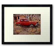 Renault Dauphine - House NM Framed Print