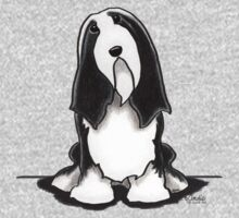 Bearded Collie Sit Pretty Kids Clothes
