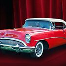 1954 Buick Skylark Convertible by DaveKoontz