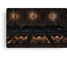 Ceiling symmetry Canvas Print