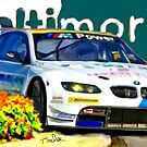 Baltimore Grand Prix, BMW into corner  by Tom  Sachse