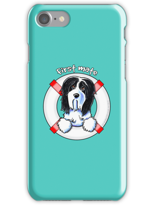 Bearded Collie :: First Mate by offleashart