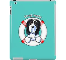 Bearded Collie :: First Mate iPad Case/Skin