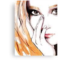 SNSD- Jessica Canvas Print