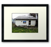 Pretty Paintings, Ugly Places VI Framed Print