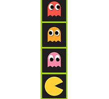 pac mans by Alii Marie