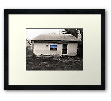 Pretty Paintings, Ugly Places VI-II Framed Print
