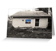 Pretty Paintings, Ugly Places VI-II Greeting Card