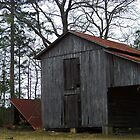 Just Another Old Barn by Ellen  Price - Greenwald