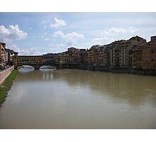Ponte Vecchio Florence Italy Photographic Print