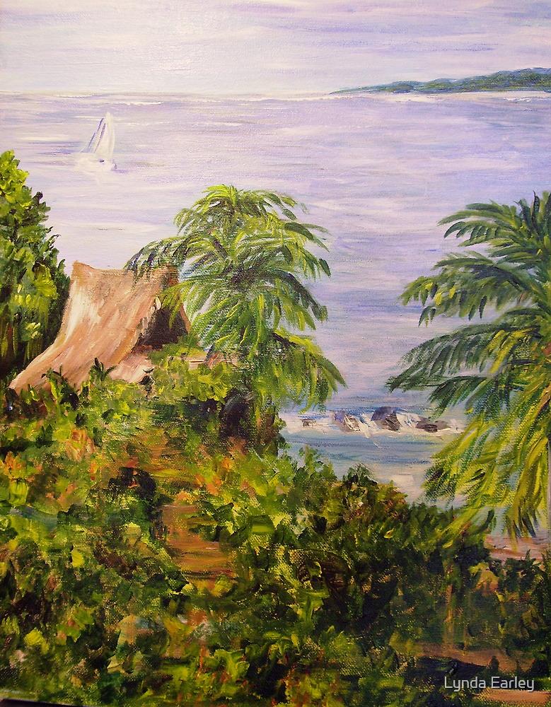 By Tenacatita Bay by Lynda Earley