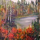 Mountain Lake Near Revelstoke by Lynda Earley