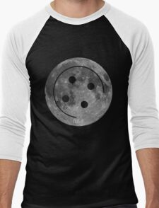 Button Moon Men's Baseball ¾ T-Shirt