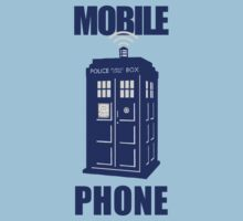 Tardis - Mobile Phone by oawan