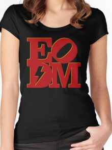 EoDM LOVE - Variant Women's Fitted Scoop T-Shirt