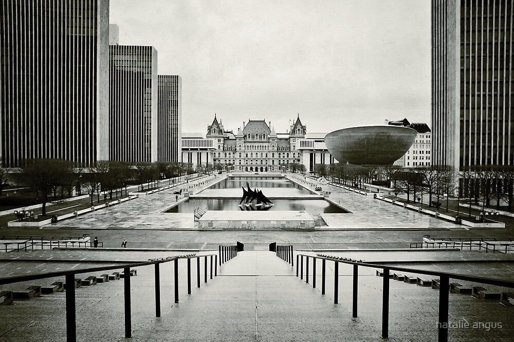 Empire State Plaza by natalie angus