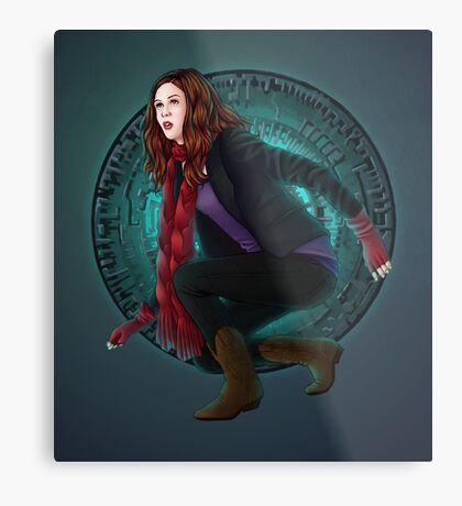 Amy and the Pandorica (Doctor Who) Metal Print