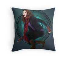 Amy and the Pandorica (Doctor Who) Throw Pillow