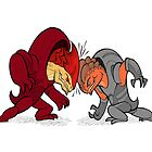 Krogan Headbutt! by etall