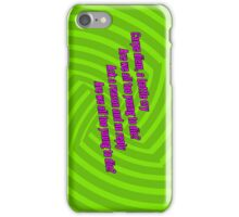 Carpe Diem - Green Day iPod / iPhone Case iPhone Case/Skin