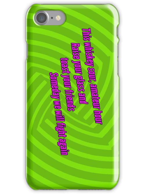 Rusty James - Green Day iPod / iPhone Case by Dsavage94