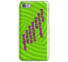 Oh Love - Green Day iPod / iPhone Case iPhone Case/Skin